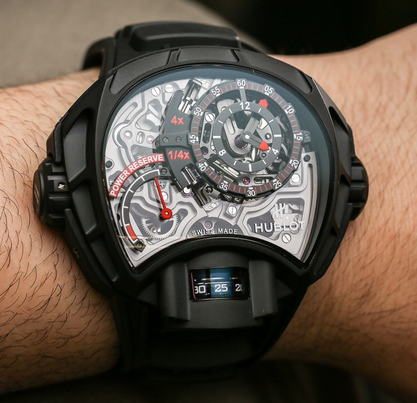 Hublot MP-12 Key Of Time Skeleton Watch