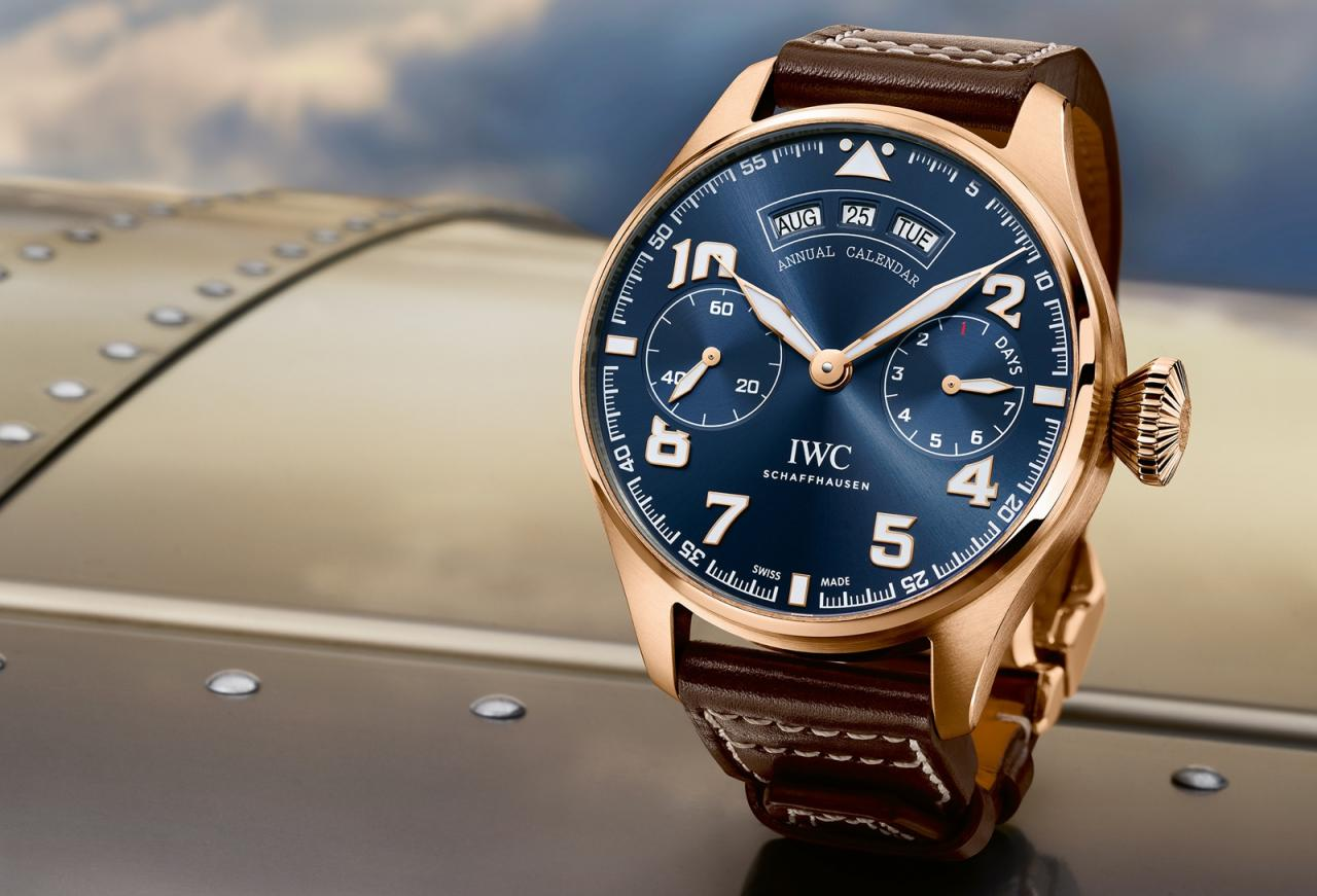 IWC 2016 Big Pilot Watch Annual Calendar Le Petit Prince