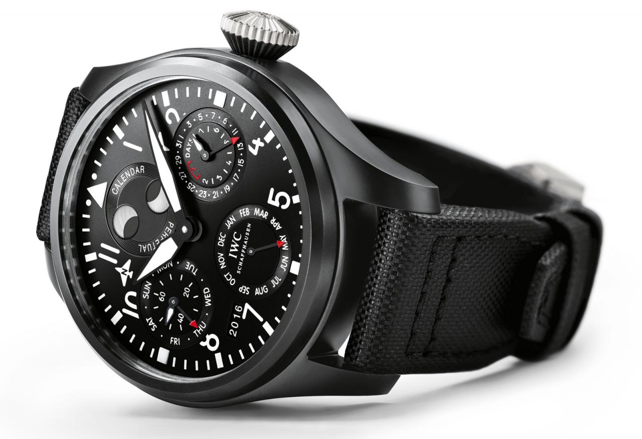 IWC 2016 Big Pilot Watch Perpetual Calendar Top Gun