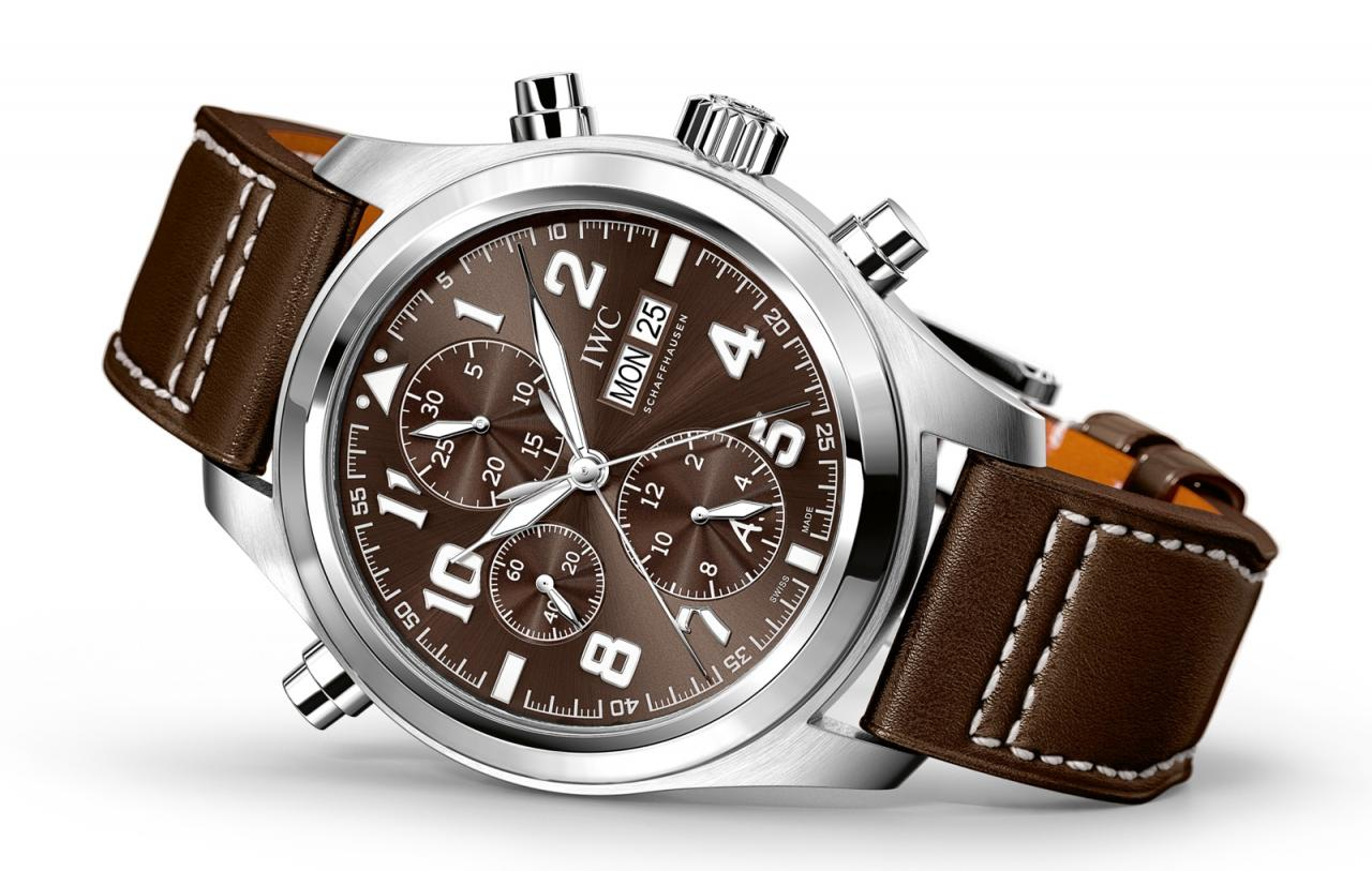 IWC 2016 Pilot Watch Double Chronograph Saint Exupery