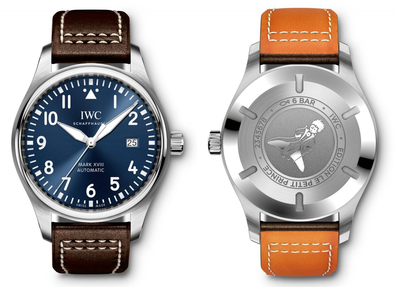 IWC 2016 Pilot Watch Mark XVIII Le Petit Prince