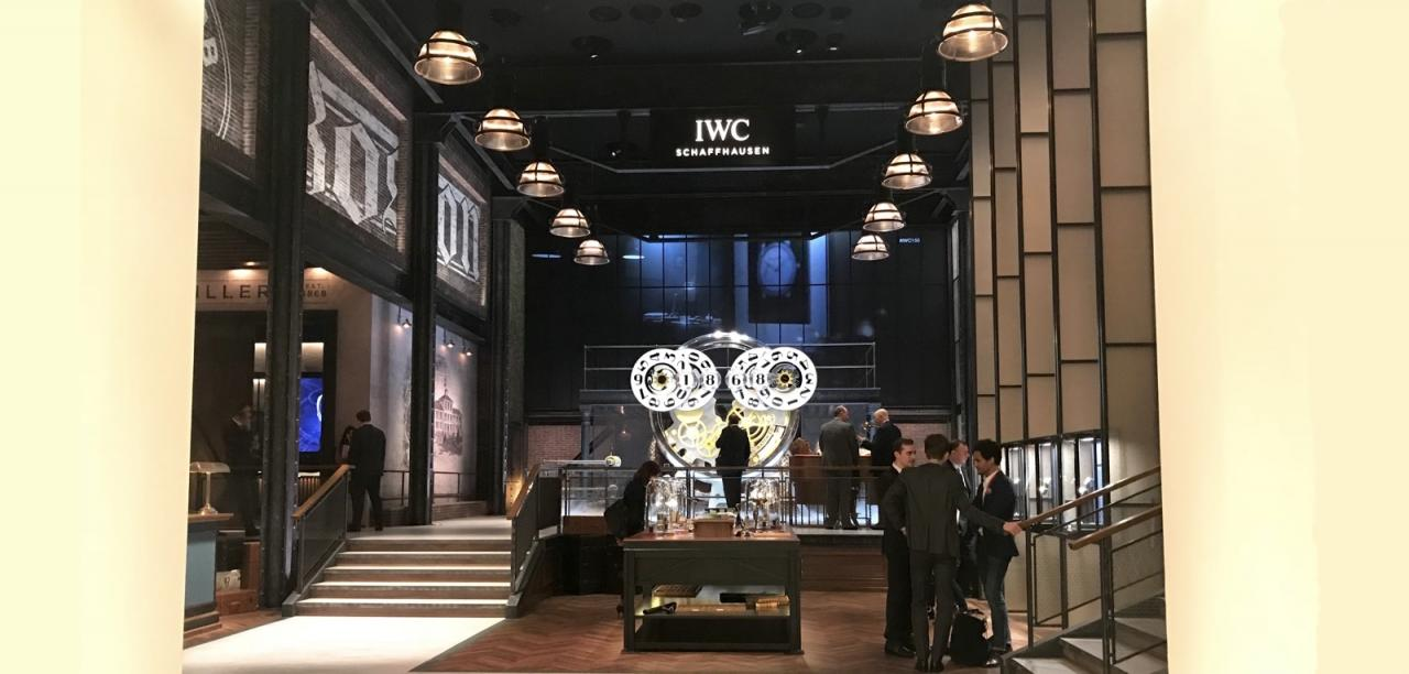 IWC Booth SIHH 2018