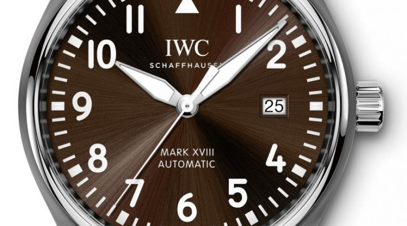 IWC Pilot Watch Mark XVIII Saint-Exupery 2017