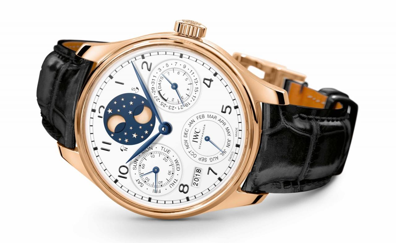 IWC Portugieser Calendario Perpetuo 150 Years Coleccion Jubilee SIHH 2018