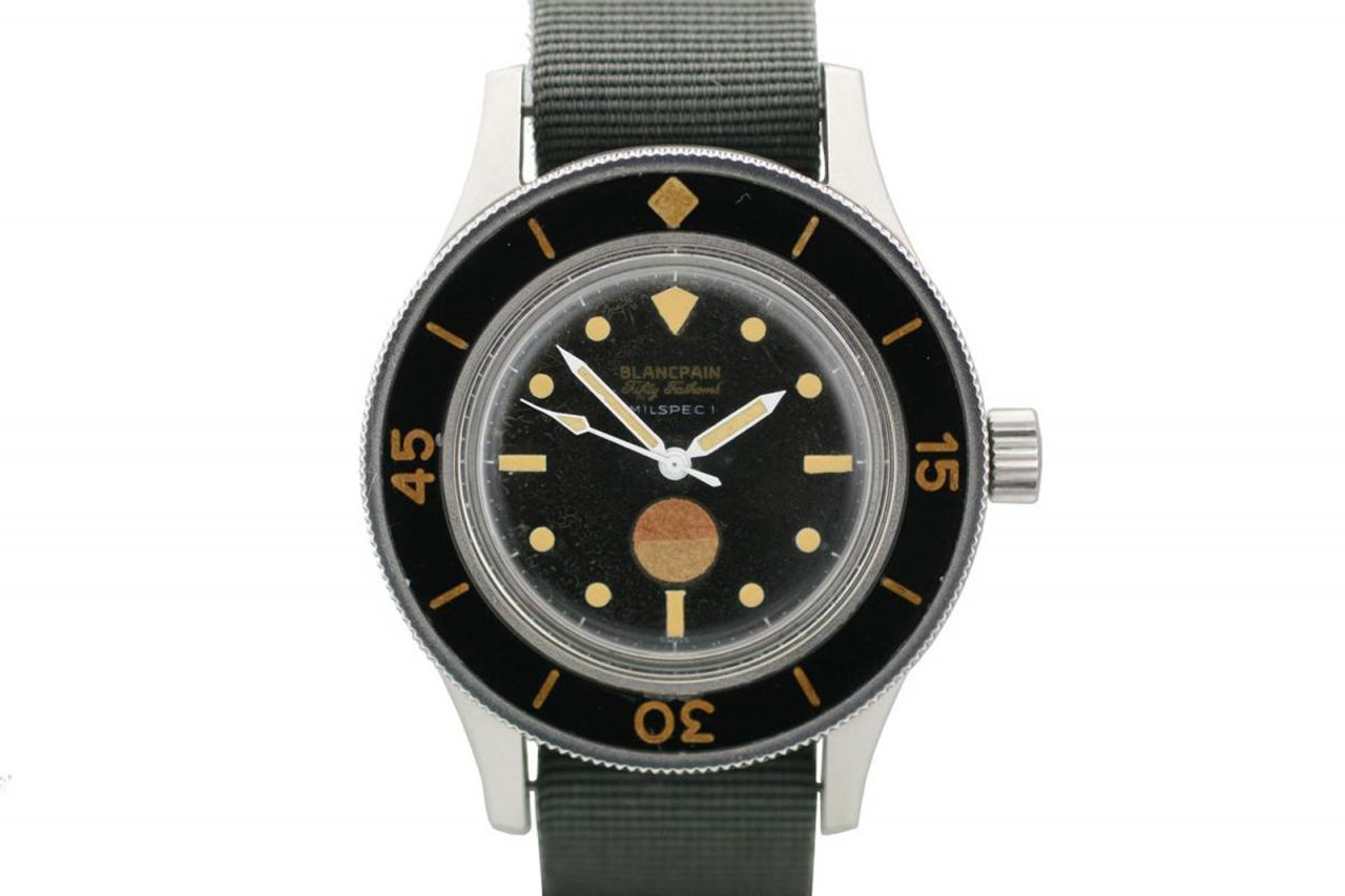 Blancpain Fifty Fathoms MIL-SPEC 1 (1957)