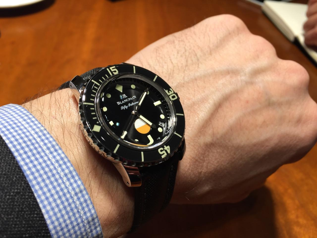 Blancpain Fifty Fathoms Automatique