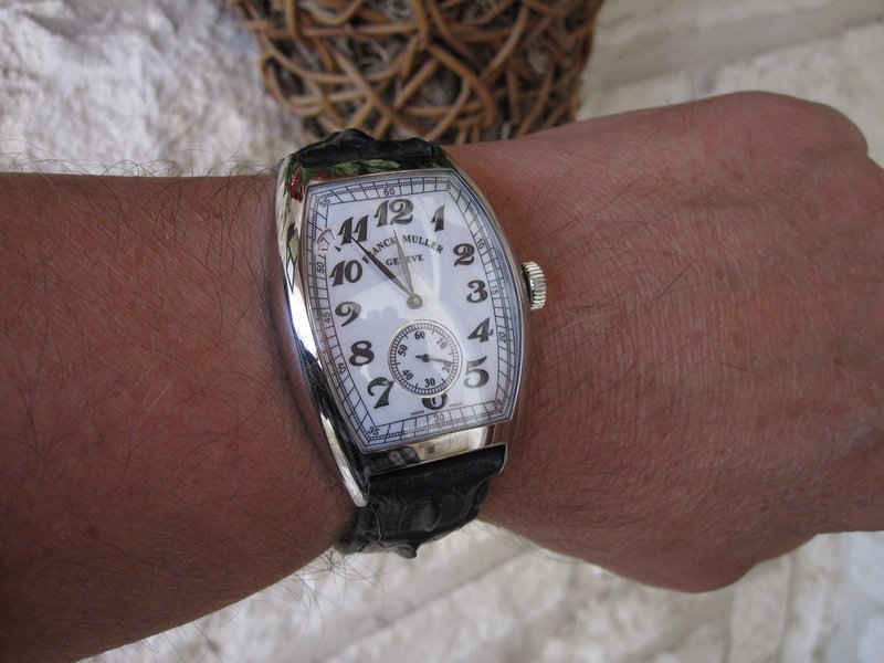 Franck Muller Vintage Curvex 7-Days Power Reserve Watch