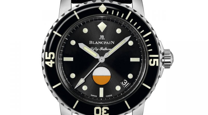 Blancpain Tribute to Fifty Fathoms MIL-SPEC para el Only Watch 2017